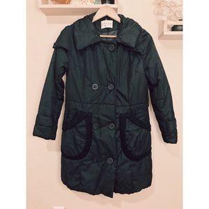 Puffy Black Winter Coat